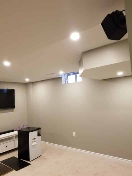 Hamilton Basement Reno Project