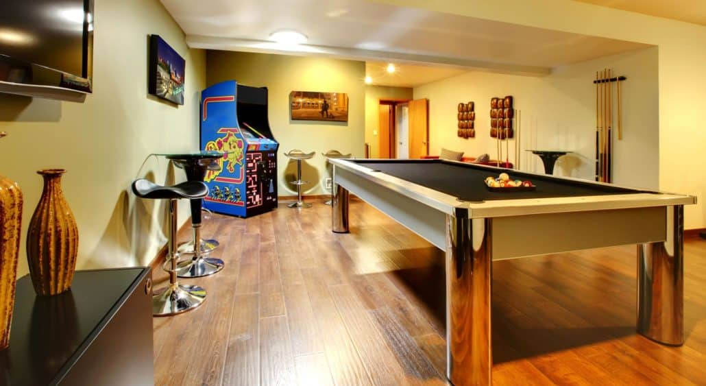 Functional basement for the whole family